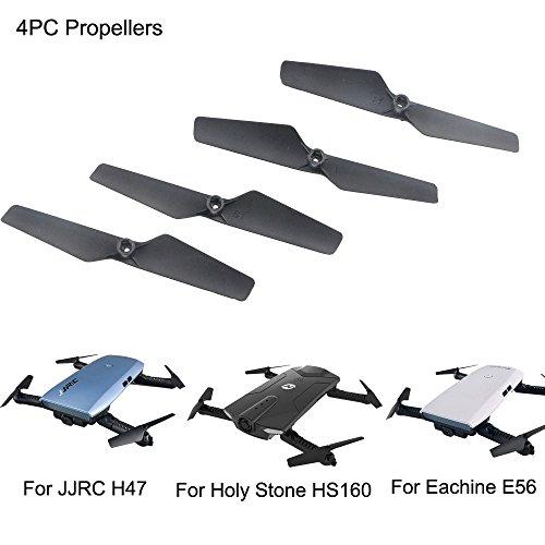 Dapei Propeller kompatible mit Eachine E56 JJRC H47 Holy Stone HS160 RC Drohne Quadcopter Propeller Ersatz Propellerblätter Zubehör für Flugzeuge - 4 Stück