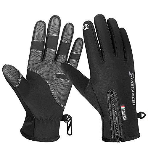 Bonheur guanti sportivi unisex uomo guanti ciclismo mtb bicicletta guanti dita guanti da palestra arrampicata per donna e uomo