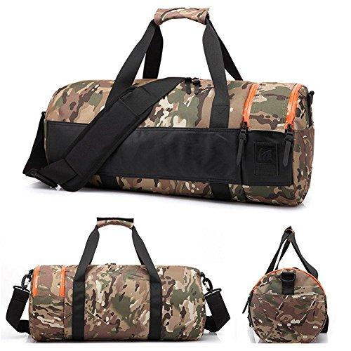 Umh?ngetasche aus der Schulter-Tilt-Tasche Folding Outdoor Sport Bag f¨¹r M?nner und Frauen Camouflage