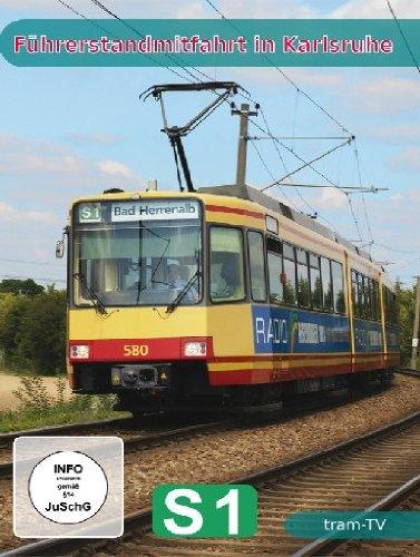 Führerstandsmitfahrt in Karlsruhe - S1