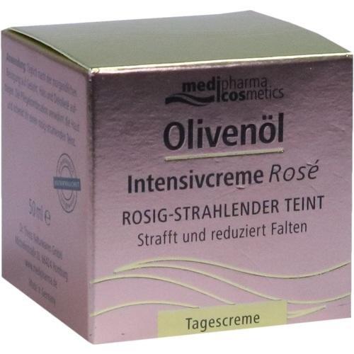 Olivenöl Intensivcreme Rosé Tagescreme für das Gesicht, 50 m