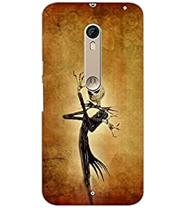 PrintDhaba Abstract Image D-4846 Back Case Cover for MOTOROLA MOTO X PURE EDITION (Multi-Coloured)