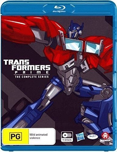 TRANSFORMERS: PRIME THE COMPLETE SERIES BOXSET - TRANSFORMERS: PRIME THE COMPLETE SERIES BOXSET (9 Blu-ray)