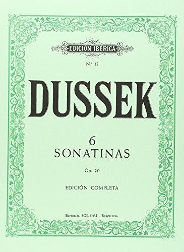 6 Sonatinas para piano, Op.20: Edición completa