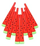 #6: Fusine™ (Pack of 12 ) Fruit Shape - WaterMelon Ball Point Pens - Red