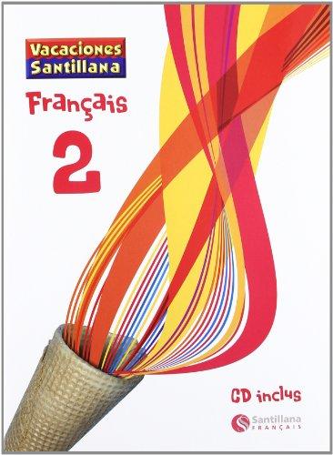 Vacaciónes Santillana, francés, 2 ESO. Cuaderno - 9788496597556