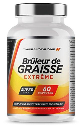 Brûleurs de graisse - Brûleurs de graisses extrêmes pour hommes et femmes - 60 gélules...