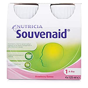 Nutricia Souvenaid Strawberry Flavour 4 x 125ml