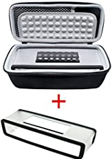 Poschell Harte stoßfest Reise Tasche mit weicher Abdeckung für Bose SoundLink Mini I und Mini II Bluetooth Lautsprecher