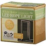 Flipo solaire 100LED corde Lumière, Blanc Chaud