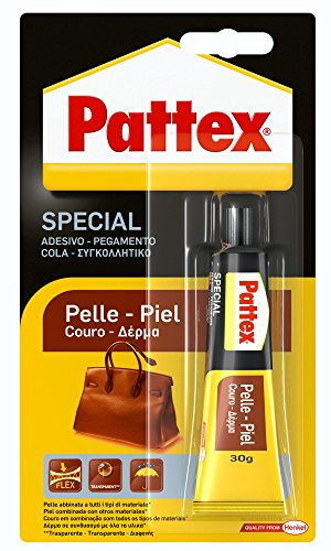 Pattex 1479391 Adesivo contatto per oggetti Pelle 30g