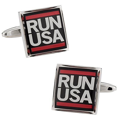 Run USA Cufflinks Chaps-mens Tie