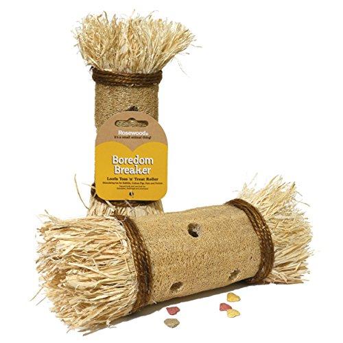 Rosewood Boredom Breaker Loofa Toss 'N' Treat a Rullo per Piccoli Animali