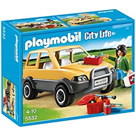 Playmobil Veterinaria - Veterinaria con coche, playset (5532)