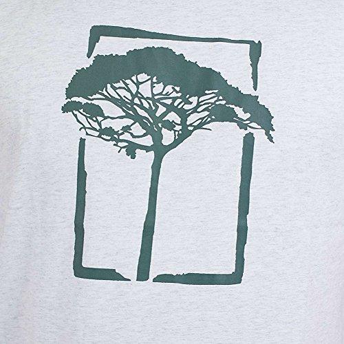 Mahagony T-Shirt T.O.L. Basic silber/grün Silber/Grün