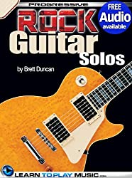 Rock Guitar Lessons - Licks and Solos: Teach Yourself How to Play Guitar (Free Audio Available) (Progressive) (English Edition)