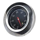 Bermud Edelstahl Bimetall Thermometer Bratenthermometer Grillthermometer Edelstahl BBQ Gasgrill Barbecue -