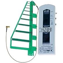Gigahertz Solutions HF32D - Medidor de campo electromagnético (alta frecuencia, 800 MHz - 2.5 GHz, incluye telefonía móvil GSM)