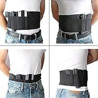 Elastic Tactical Modular Pistol Holster Belly Band Hoster Airsoft Pistol Gun Waist Holster for Glock 17 / 19