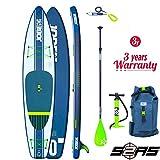 Jobe 2017 Aero Duna Inflatable Stand Up Paddle Board 11'6 x 31 INC Paddle, Backpack, Pump & Leash