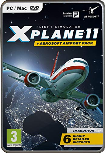 X-Plane 11 and Aerosoft Airport Collection PC DVD