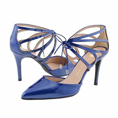 chaussures en cuir verni Marine