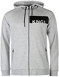 Kangol KNGL Band Zip Hoody Mens gris