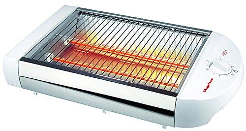 Magefesa Sun Up Flacher Toaster, 600 W, Weiß