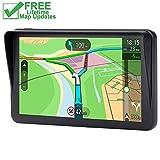 GPS for Car, 7 inches SAT NAV Lifetime Map Update Spoken Turn-to-turn Navigation