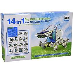CEBEKIT-C9921 CEBEK Kit Educativo Solar 14 EN 1 Color Amarillo (C9921