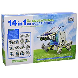51ieRrIeJWL. SS300  - CEBEKIT-C9921 CEBEK Kit Educativo Solar 14 EN 1, Color Amarillo (C9921