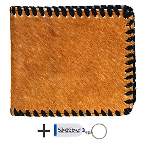 montana-west-damen-herren-geldborse-braun-brown-hair-2-fold-grosse-one-size