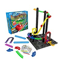 Think Fun Roller Coaster Challenge STEM Toy and Building Game for Boys and Girls Age 6 and Up