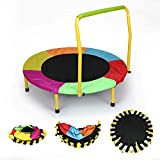 HLC Colorful Folding Indoor Outdoor Junior Trampoline with Handle