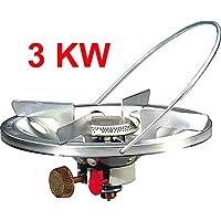 Aufsatz-Gaskocher SUPER MAGNUM PIEZO 3 KW - für GAZ-Gasflaschen R901 R904 oder R907