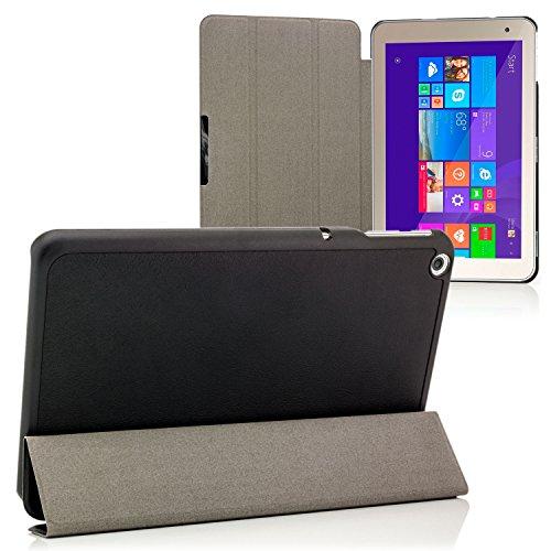 Saxonia Toshiba Encore 2 8.0 WT8-B32 Hülle Slim Case Tablet Tasche Schutzhülle Schwarz
