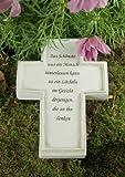 Grabkreuz Das Schönste, was ein Mensch...
