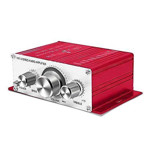 Amplificateur Chambre - Mini Amplificateur Ampli de Son Hifi Stéréo