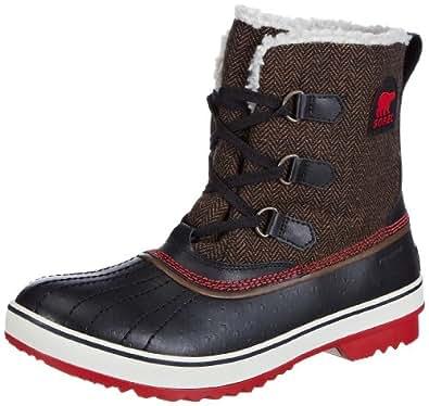 Sorel Women's TIVOLI HERRINGBONE Pull-On Boots #645, Brown