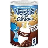 Nesté p'tite céréale saveur cacao 400g dès 8 mois - ( Prix Unitaire ) - Envoi Rapide Et Soignée