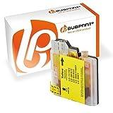 Bubprint Druckerpatrone kompatibel für Brother LC1100Y LC980Y für DCP-145C DCP-195C DCP-375CW DCP-585CW DCP-J715W MFC-490CW MFC-5890CN MFC-6490CW Gelb