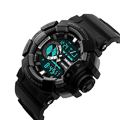 Skmei AD1117 Black Analog-Digital Multicolor Dial Men\'s Watch.