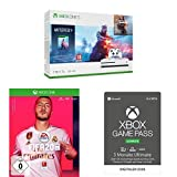 Microsoft Xbox One S 1TB - Battlefield V Bundle (inkl. Battlefield V: Deluxe Edition, Battlefield 1: Revolution und Battlefield 1943) + FIFA 20 + Game Pass Ultimate 3 Monate