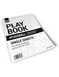 Das beliebte 1x1SPORT Playbook #FUSSBALL   Spielfeldvorlagen & Trainingshilfen für Fußballtrainer
