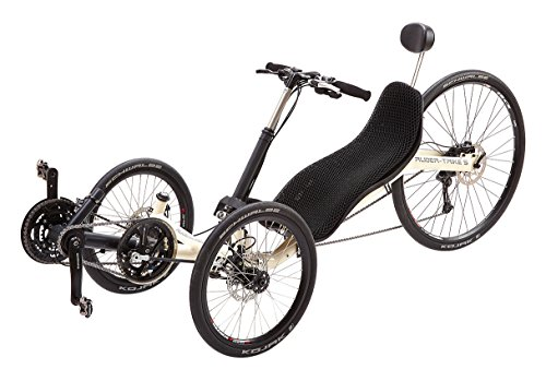 Ruder-Rad S Trike, Hellelfenbein, 185 cm