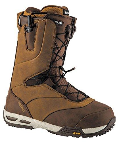 Nitro Snowboards Herren Venture Pro TLS\'18 Snowboard Boot, Two Tone Brown, 32