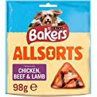 Bakers Allsorts Dog Treats Chicken and Beef 98g