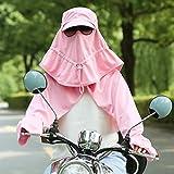 YANGFEIFEI-MZ sommer - outdoor - cape hut kopfbedeckung/radfahren gap/gesichtsmaske/anglerhut,pink