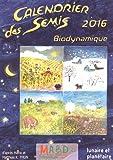 Calendrier des semis 2016 : Biodynamique