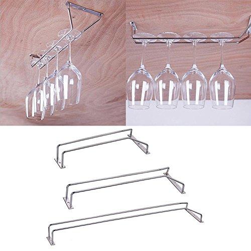 Weinglas KleiderbÜGel Halter Glas Stemware Rack , Sektglas Cup Regal Lagerung Mit Schrauben, L-55CM Stemware Rack